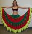 25-yard Tribal gypsy skirt