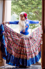 Banjara skirt 1 Blue