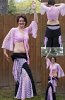 Belly dance lace costume