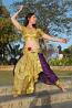 odissi dance costume  2