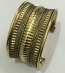Tribal kuchi brass cuff 23