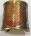 Tribal kuchi brass cuff 29