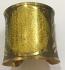 Tribal kuchi brass cuff 30