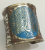 Tribal kuchi brass cuff 31
