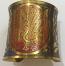 Tribal kuchi brass cuff 32