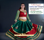 Bollywood dance costume 99