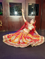 Bollywood dance costume 104