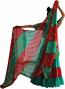 3-yard zari chiffon veil double colors