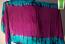 3-yard silk batik veil