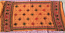 banjara tribal veil orange
