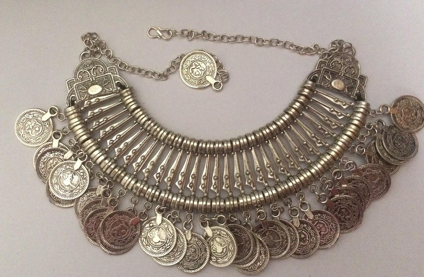 Tribal kuchi necklace 8