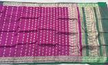 Used silk sari 16
