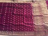 Used silk sari 19