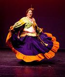 Belly dance skirt 90