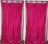 sari curtain