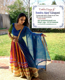 Bollywood dance costume 107