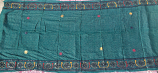 banjara tribal veil teal