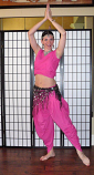 belly dance dhoti costume
