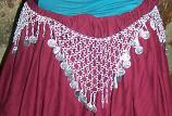 Tribal  waist hips belt-9