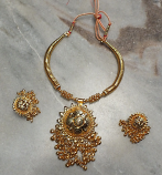 Tribal kuchi necklace 105