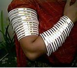 Tribal kuchi cuff 18
