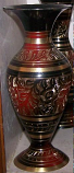 Copper Flower vase 11