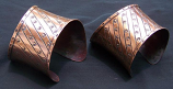 Tribal kuchi copper cuff 4