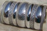 Tribal kuchi cuff 42