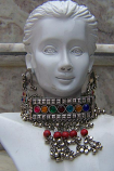 Tribal kuchi necklace 107