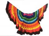 25 yard rainbow skirt