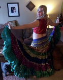 25 yard sari gypsy costume