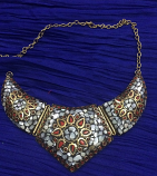 Tribal kuchi necklace 40