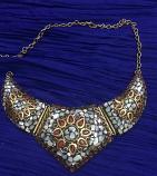 Tribal kuchi necklace 40