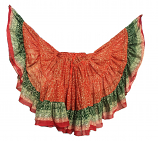 red Maharani skirt 22