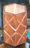Wooden Carved Pen Stand