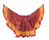 Red Maharani skirt 8