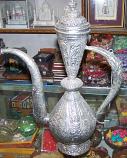 Silver tone Surahi