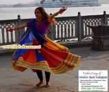 Bollywood dance costume 114