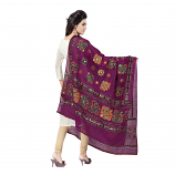 banjara tribal veil purple
