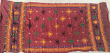 banjara tribal veil maroon