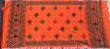 banjara tribal veil oranger