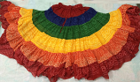 rainbow gypsy skirt 105