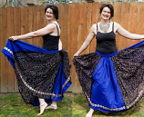 belly dance jaipur-yard skirt