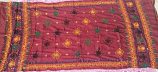 banjara tribal dark red