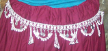 Tribal  waist hips belt-11
