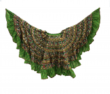 banjara skirts 11 Lime green