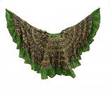 banjara skirts 11 Lime green