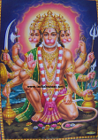 Hanuman print 6
