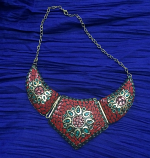 Tribal kuchi necklace 53