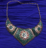 Tribal kuchi necklace 29